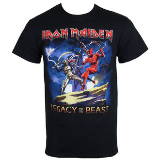 tričko pánske Iron Maiden - Legacy Beast Fight - ROCK OFF, ROCK OFF, Iron Maiden