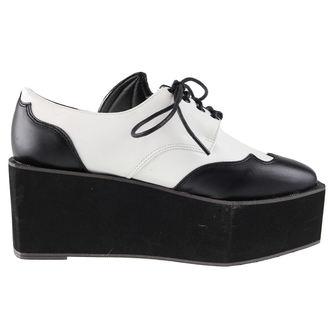topánky dámske IRON FIST - Daytime Sleeper - IFW005116-Black/White
