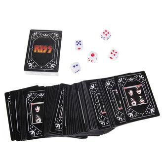 sada hracia karty + kocky) KISS - Iconic, Kiss