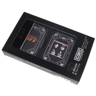 sada hracia karty + kocky) KISS - Iconic