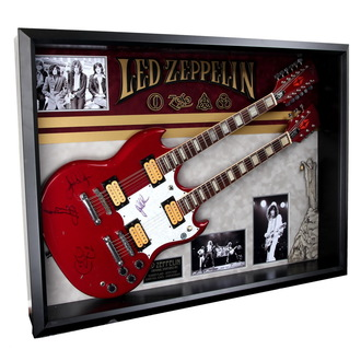 podpísaná gitara Led Zeppelin - ANTIQUITIES CALIFORNIA - 136945