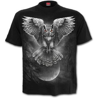tričko pánske SPIRAL - WINGS OF WISDOM - Black, SPIRAL
