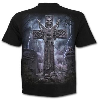 tričko pánske SPIRAL - ROCK ETERNAL - Black - T136M101