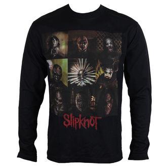 tričko pánske s dlhým rukávom Slipknot - Blocks - ROCK OFF, ROCK OFF, Slipknot
