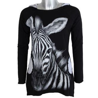 tričko dámske s dlhým rukávom ALISTAR - Zebra, ALISTAR
