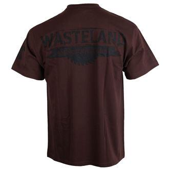 tričko pánske ALISTAR - Wasteland - brown, ALISTAR