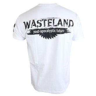 tričko pánske ALISTAR - Wasteland - white, ALISTAR