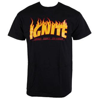 tričko pánske Ignite - Skate - Bllack, Buckaneer, Ignite
