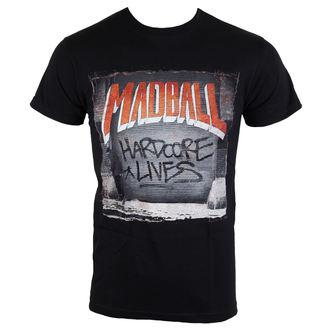 tričko pánske Madball - Hardcore Lives - black - BUCKANEER, Buckaneer, Madball