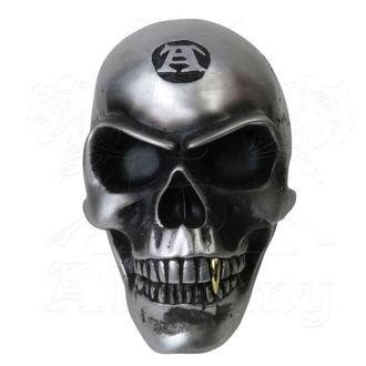 dekorácia (lebka) ALCHEMY GOTHIC - Metalised Alchemist Skull, ALCHEMY GOTHIC