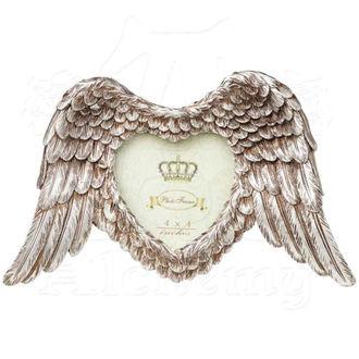 dekorácia (fotorámik) ALCHEMY GOTHIC - Winged Heart (Wings Down), ALCHEMY GOTHIC