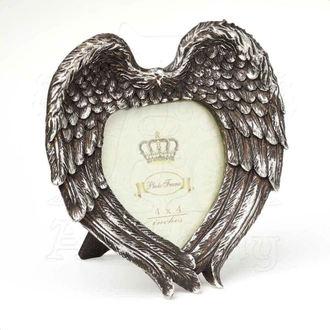 dekorácia (fotorámik) ALCHEMY GOTHIC - Winged Heart (Wings Closed), ALCHEMY GOTHIC