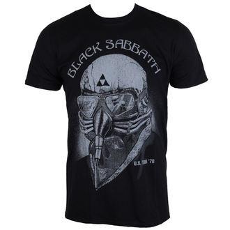 tričko pánske Black Sabbath US Tour 78 - Black - ROCK OFF, ROCK OFF, Black Sabbath