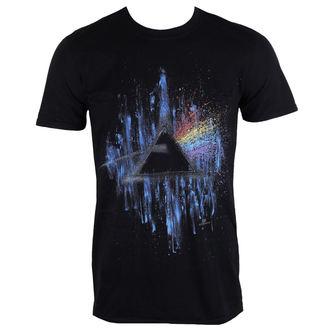 tričko pánske Pink Floyd - DSOTM Blue Splatter - Black - ROCK OFF, ROCK OFF, Pink Floyd