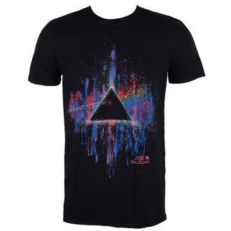 tričko pánske Pink Floyd - DSOTM Pink Splatter - Black - ROCK OFF, ROCK OFF, Pink Floyd