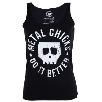 tielko dámske METAL CHICKS DO IT BETTER- Skull, METAL CHICKS DO IT BETTER