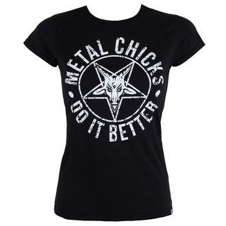 tričko dámske METAL CHICKS DO IT BETTER - Pentagram, METAL CHICKS DO IT BETTER