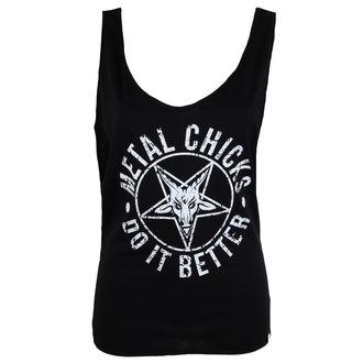 tielko dámske METAL CHICKS DO IT BETTER - Pentagram, METAL CHICKS DO IT BETTER