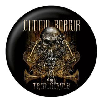 placka DIMM BORGIR - Born treacherous - NUCLEAR BLAST, NUCLEAR BLAST, Dimmu Borgir