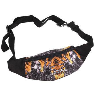 taška (ľadvinka) DOGA - Detox - Black/Yellow, NNM, Doga