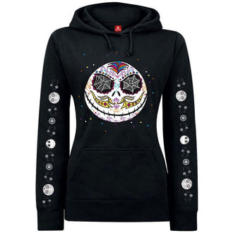 mikina dámska NIGHTMARE BEFORE CHRISTMAS - Sugarskull Dots - Black, NNM