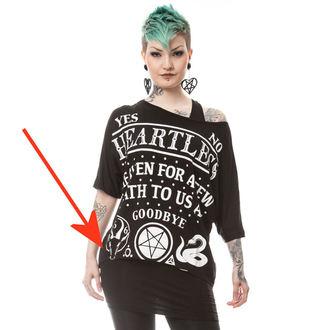 set tričko + tielko dámske HEARTLESS - DEATH TO ALL - BLACK - POŠKODENÝ, HEARTLESS