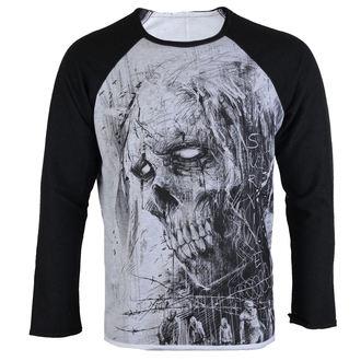tričko pánske s dlhým rukávom ALISTAR - Zombie Defend Survive - ALI 324