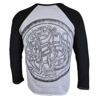 tričko pánske s dlhým rukávom ALISTAR - Viking After the battle - Grey, ALISTAR