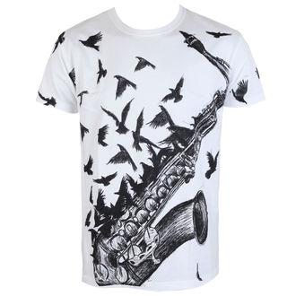 tričko pánske ALISTAR - Sax&Crows - White, ALISTAR