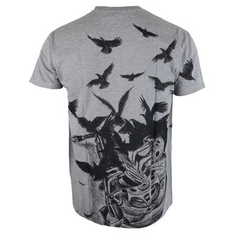 tričko pánske ALISTAR - Sax&Crows - Grey, ALISTAR