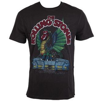 tričko pánske ROLLING STONES - US 1972 TOUR - Charcoal - AMPLIFIED, AMPLIFIED, Rolling Stones