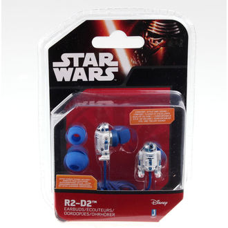 slúchadlá Star Wars - R2-D2 - Wht / Blue, NNM