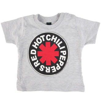 tričko detské Red Hot Chili Peppers - Logo in Circle - Grey, Red Hot Chili Peppers