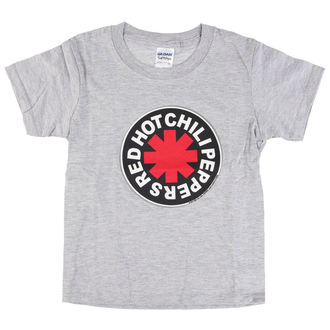 tričko detské Red Hot Chili Peppers - Logo in Circle Grey, Red Hot Chili Peppers