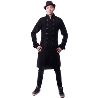 kabát pánsky VIXXSIN - Jaxon - Black, VIXXSIN