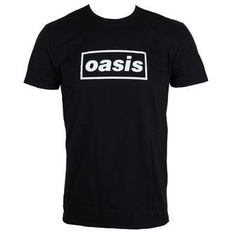 tričko pánske Oasis - Black Logo - LIVE NATION, LIVE NATION, Oasis