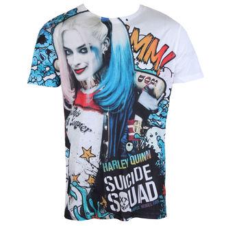 tričko pánske Suicide Squad - Graffiti - White - LIVE NATION, LIVE NATION