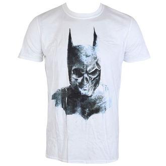 tričko pánske Batman - Gothic Skull - White - LIVE NATION - PE14357TSW