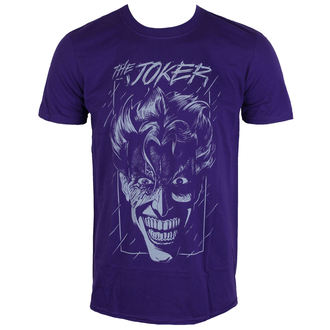 tričko pánske Batman - The Joker - Purple - LIVE NATION, LIVE NATION, Batman