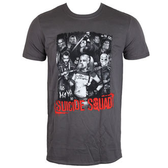 tričko pánske Suicide Squad - HA HA HA - Charcoal - LIVE NATION, LIVE NATION