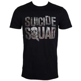 tričko pánske Suicide Squad - Logo - Black - LIVE NATION, LIVE NATION