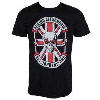 tričko pánske Asking Alexandria - Rebel - Black - LIVE NATION, LIVE NATION, Asking Alexandria