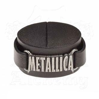 náramok Metallica - ALCHEMY GOTHIC - Logo, ALCHEMY GOTHIC, Metallica