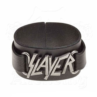náramok Slayer - ALCHEMY GOTHIC - Logo, ALCHEMY GOTHIC, Slayer