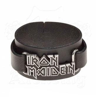 náramok Iron Maiden - ALCHEMY GOTHIC - Logo, ALCHEMY GOTHIC, Iron Maiden