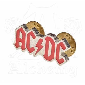 pripináčik AC/DC - ALCHEMY GOTHIC - Enamel Logo, ALCHEMY GOTHIC, AC-DC