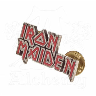 pripináčik Iron Maiden - ALCHEMY GOTHIC - Enamel Logo, ALCHEMY GOTHIC, Iron Maiden