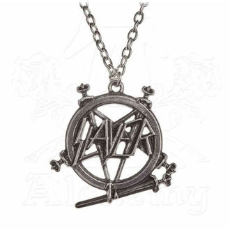 obojok Slayer - ALCHEMY GOTHIC - Pentagram, ALCHEMY GOTHIC, Slayer