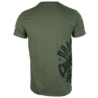 tričko pánske ORANGE COUNTY CHOPPERS - Side Circle - Military Green, ORANGE COUNTY CHOPPERS