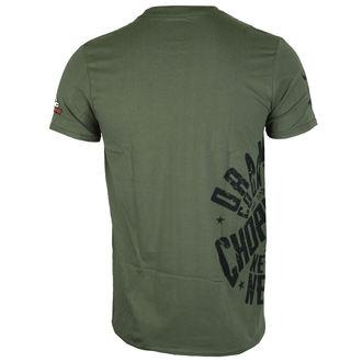 tričko pánske ORANGE COUNTY CHOPPERS - Side Circle - Military Green, ORANGE COUNTY CHOPPERS